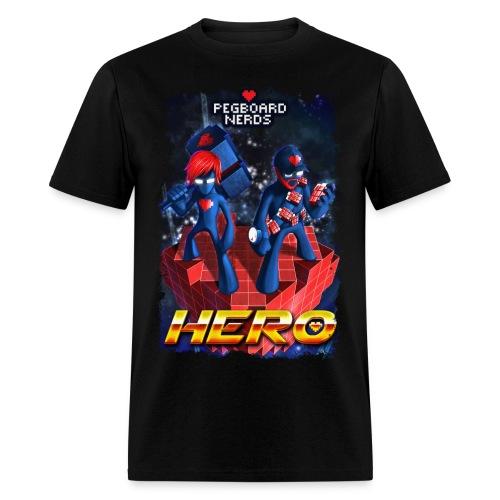Pegboard Nerds - Hero - Men's T-Shirt