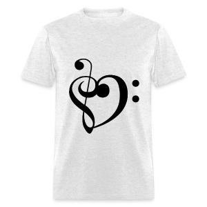 Musical Heart Tee - Men's T-Shirt