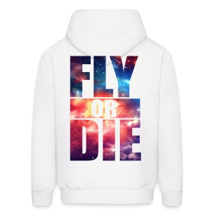 Haunted/Fly or Die - Men's Hoodie