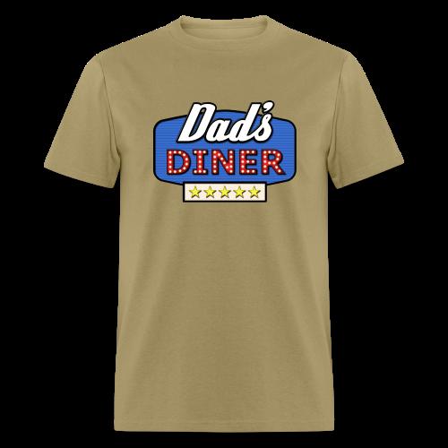 Dad's Diner 5 Star Rating - Men's T-Shirt