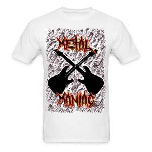 Metal Maniac - Men's T-Shirt