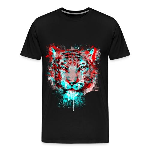 Faded Tiger - Men's Premium T-Shirt