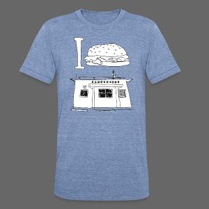 I Hamburger Greene's - Unisex Tri-Blend T-Shirt
