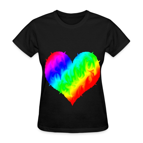 Love LGBTQ - Women's T-Shirt