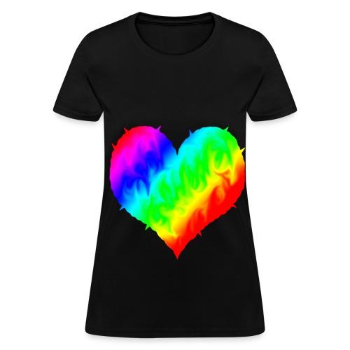 Love LGBTQ - Women's T-Shirt
