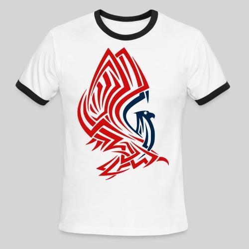 All American Eagle - Men's Ringer T-Shirt
