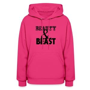 Beauty & Beast   Womens hoodie - Women's Hoodie