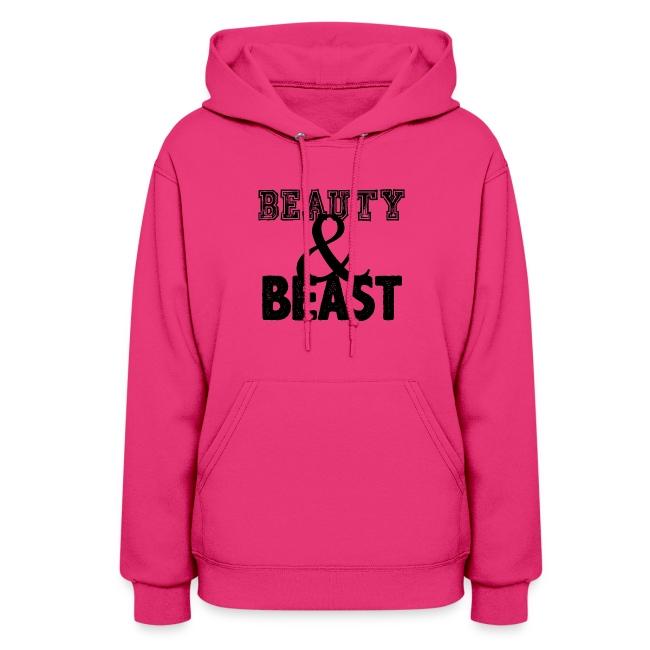 Beauty & Beast   Womens hoodie