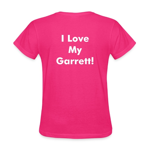 Women's I Love My Garrett! - Women's T-Shirt