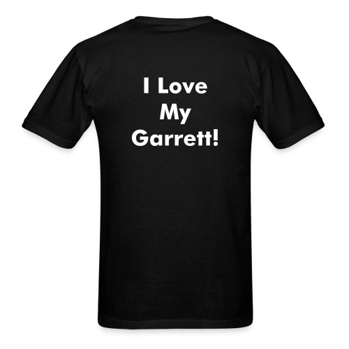 Men's I Love My Garrett - Men's T-Shirt