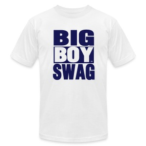 Big Boy Swag - Men's T-Shirt by American Apparel