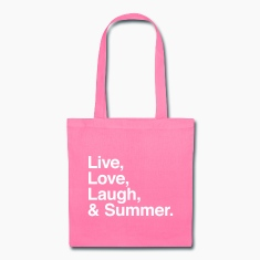 Live Love Laugh and Summer Bags & backpacks