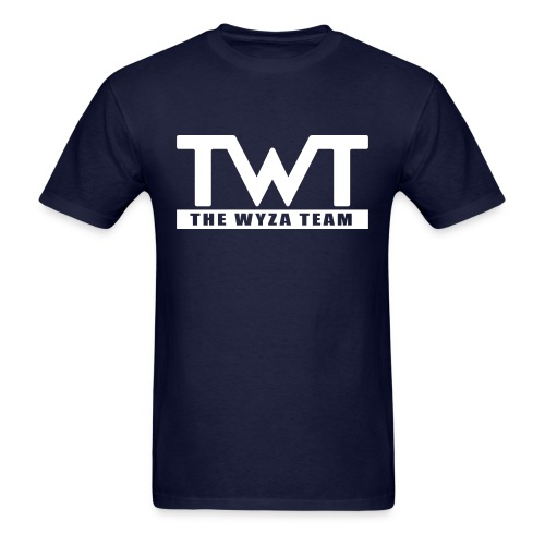 TWT White Logo - Men's T-Shirt