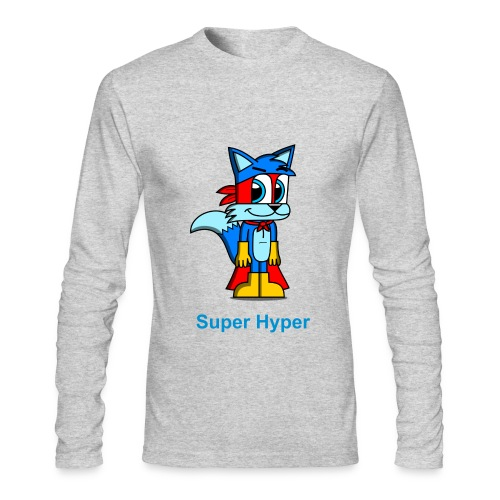 Super Hyper - Men's Long Sleeve T-Shirt by Next Level