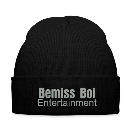 benmiss Boi Entertainment knitted Cap - Knit Cap with Cuff Print