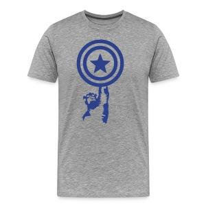 Shield up - Men's Premium T-Shirt