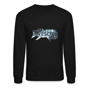 Totally Awesome Fishing Show Men's Sweatshire - Crewneck Sweatshirt