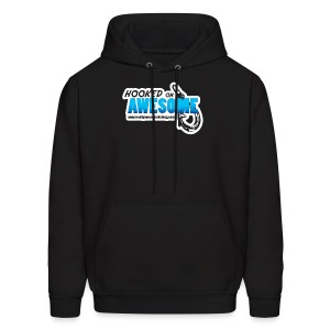Hooked on Awesome Men's Organic Hoodie - Men's Hoodie