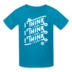I Think I Can x3 Kids Shirt - Kids' T-Shirt