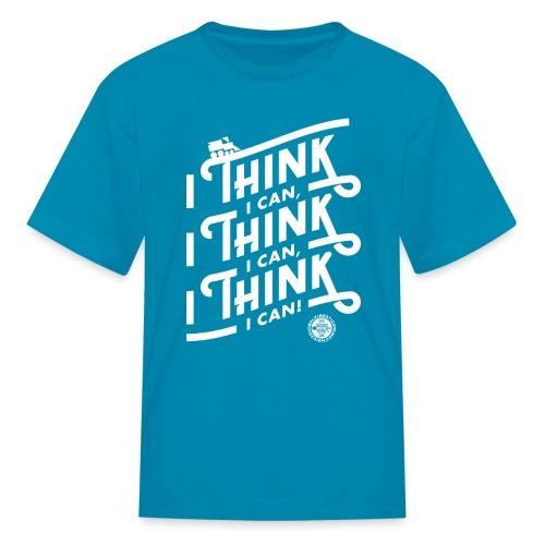 I Think I Can x3 Kids Shirt - Kids' T-Shirt