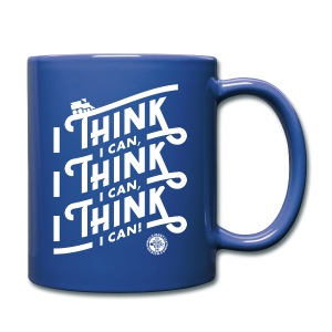I Think I Can x3 Coffee Mug - Full Color Mug
