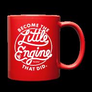 Mugs & Drinkware ~ Full Color Mug ~ I Think I Can x3 Coffee Mug