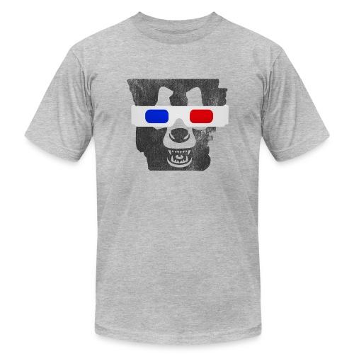 3D Bear State - American Apparel - Men's Fine Jersey T-Shirt