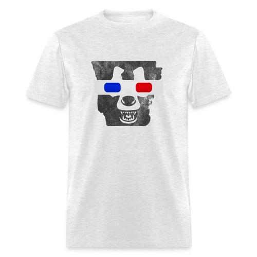 3D Bear State - Regular Tee - Men's T-Shirt