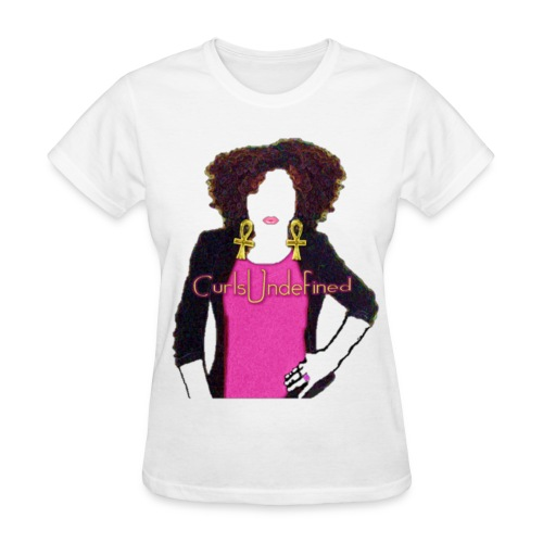 Curls Undefined DeluxeTee - Women's T-Shirt