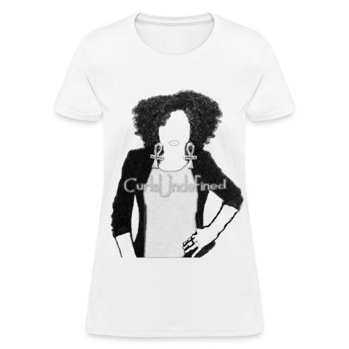 Curls Undefined Basic Tee - Women's T-Shirt