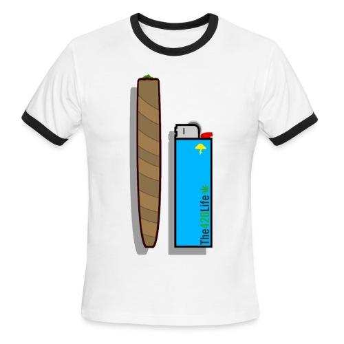 420Life Tee - Men's Ringer T-Shirt