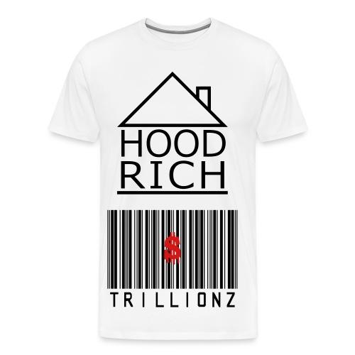 Hood Rich Tall Tee - Men's Premium T-Shirt