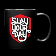 Mugs & Drinkware ~ Full Color Mug ~ Slay Your Day Coffee Mug