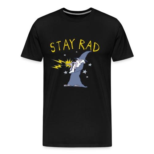 Stay Rad Wizard - Men's Premium T-Shirt
