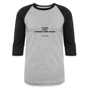 kick asana - Baseball T-Shirt