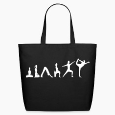 Yoga Evolution vector Bags & backpacks