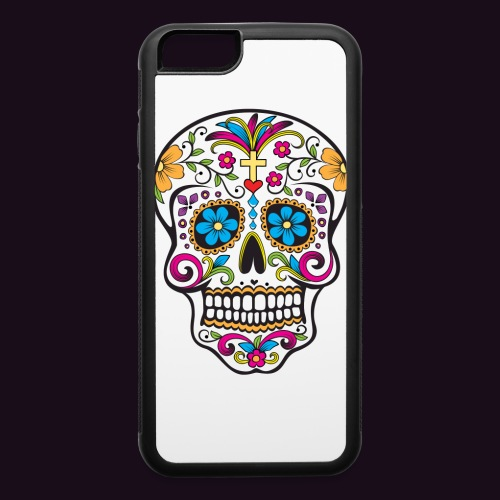iphone 6 rubber skull case - iPhone 6/6s Rubber Case