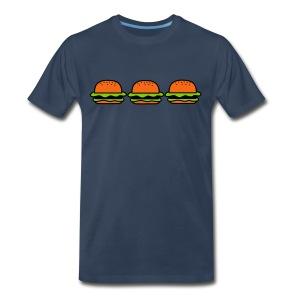 Burger..Burger..Burger - Men's Premium T-Shirt