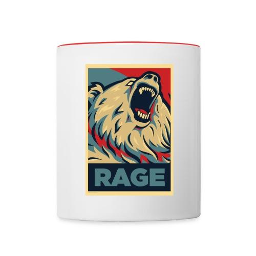 Rage Bear for President (Mug) - Contrast Coffee Mug
