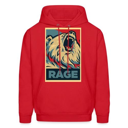 Rage Bear for President (Hoodie Red) - Men's Hoodie