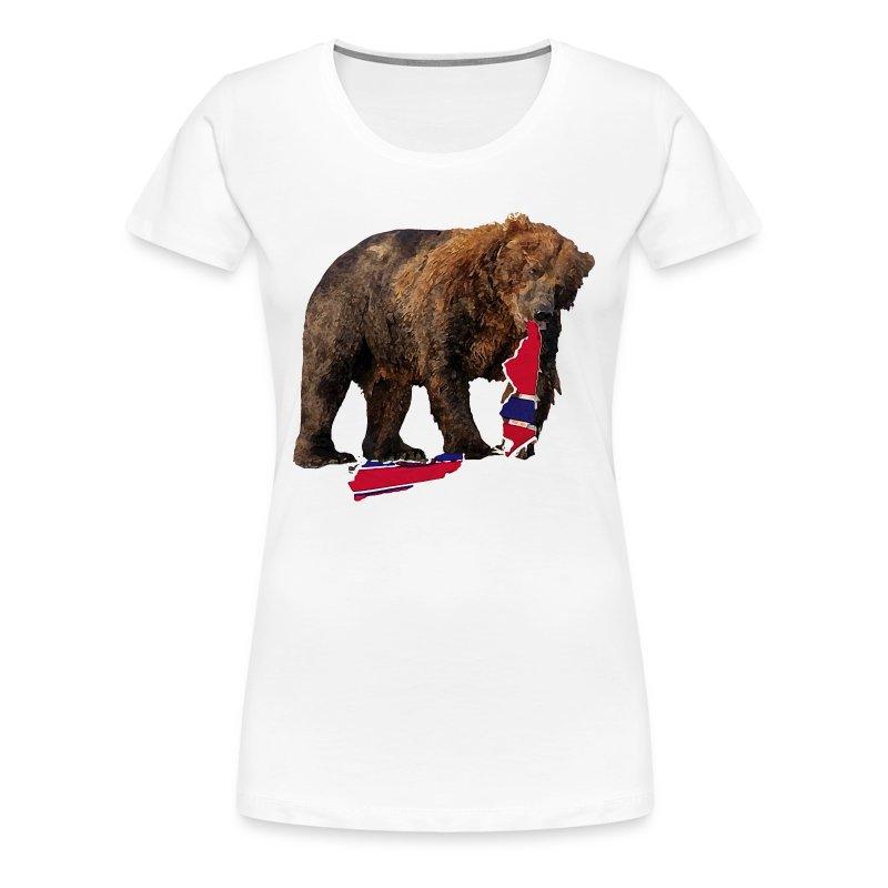 Awesome bear bruin hockey boston t shirt spreadshirt for Boston bruins bear t shirt