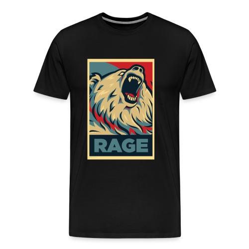 Rage Bear for President (Shirt Black) - Men's Premium T-Shirt