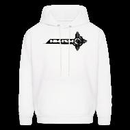Hoodies ~ Men's Hoodie ~ New NM-ISM Black Logo Sweatshirt