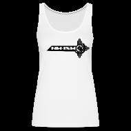 Tanks ~ Women's Premium Tank Top ~ New NM-ISM Black Logo Tank - Women
