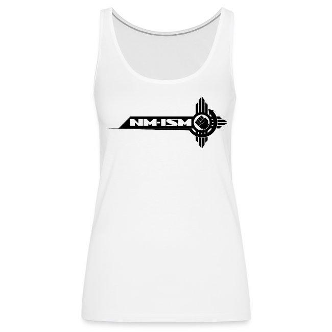 New NM-ISM Black Logo Tank - Women