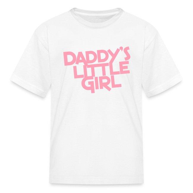 8e4ddbf0a79 Homeschool T-shirts | Daddys Little Girl - Kids T-Shirt