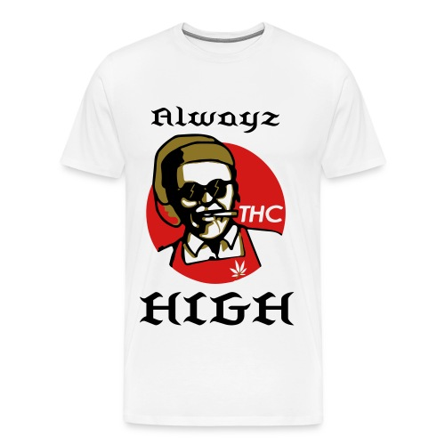 Alwayz High thc - Men's Premium T-Shirt