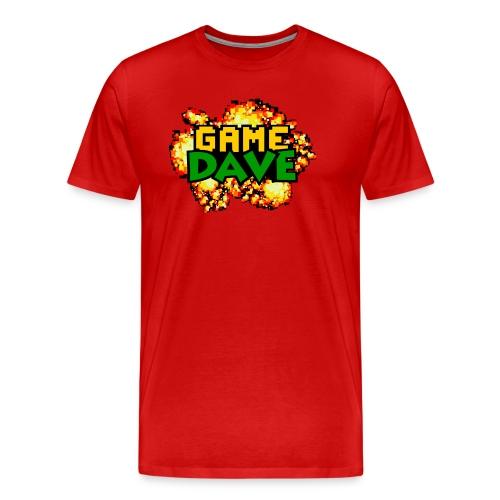 Game Dave 8-Bit Explosion Premium - Men's Premium T-Shirt