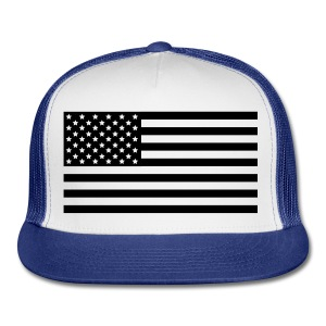American Flag hat  - Trucker Cap