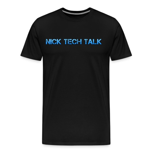 Nick Tech Talk Logo Men's Premium T-Shirt - Men's Premium T-Shirt